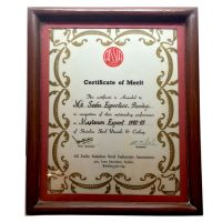 AISSIA Certificate of Merit 92-932